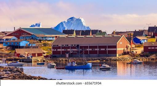 Ilulissat in the Summer