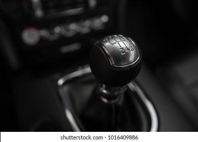 Sportwagen-Schalthebel