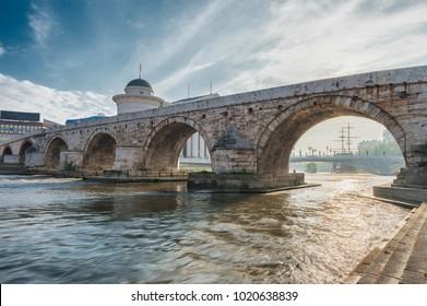 Pont de pierre de Skopje