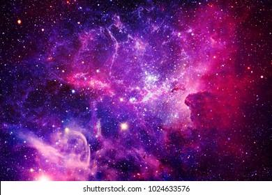 Bursting Galaxy - Elemente dieses Bildes von der NASA eingerichtet