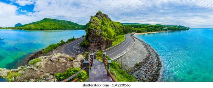 Punto de vista de Maconde, Baie du Cap, Isla Mauricio, África