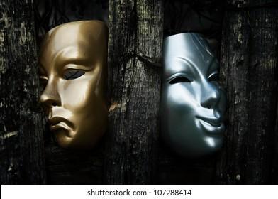 Komödie und Tragödie - Drama Theater Masken