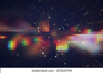 Prueba de textura de falla de pantalla