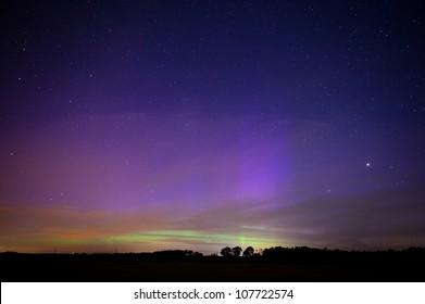Die Aurora Borealis aus der Sicht der Niederlande am 16-07-2012