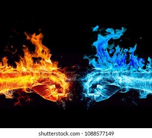 Feuer und kalter Kampf