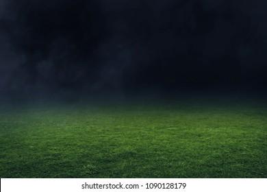 サッカースタジアムフィールド