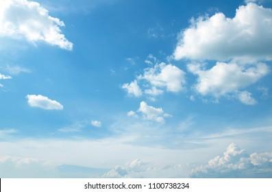 天空白云背景