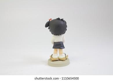 la figura del anime del japón