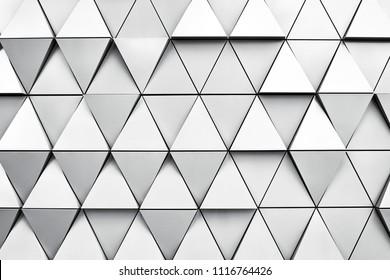 Geometrischer Silberhintergrund mit Raute und Knoten. Moderner Dilverhintergrund.