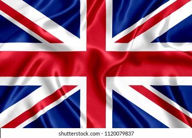 Flagge der britischen Seide