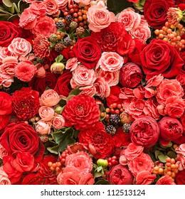Abstrakter Hintergrund der Blumen. Nahaufnahme.