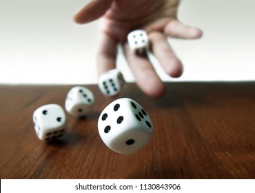 Hand & Rolling Dices