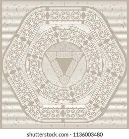 Calendario Azteca Vectores.Azteca Calendario Logo Vector Eps Free Download