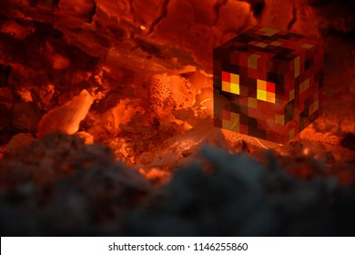 Minecraftでスライムを発射する