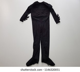 Costume batman, The Dark Knight isolated on white background