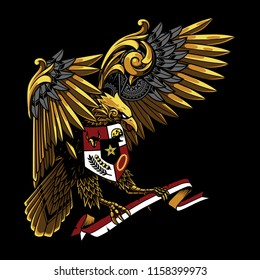 Garuda Pancasila Logo Vector Cdr Free Download