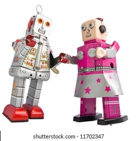 twee retro robots