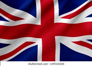 UK-Flagge - Unated Kingdom-Flagge, Nationalflaggenkonzept