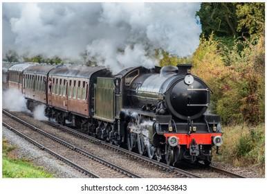 蒸気機関車英国