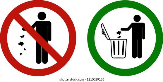 Prohibido arrojar escombros