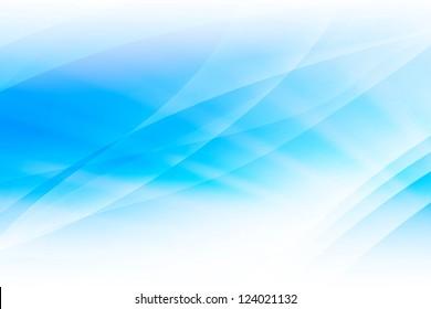 Fondo abstracto de onda de luz azul