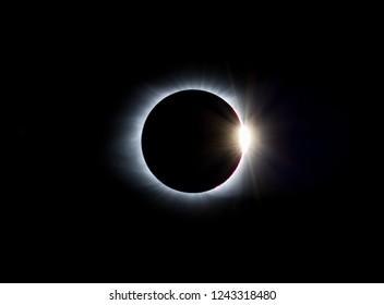 Totalidad del eclipse solar