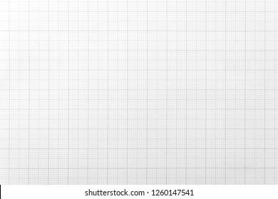 Weißes Papier mit Gitterlinienmuster für Hintergrund. Nahaufnahmebild.