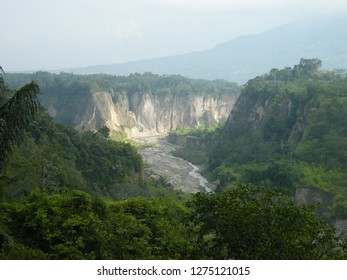 Green valley from west sumatra, indonesia