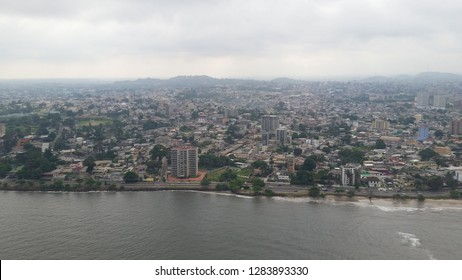 Libreville, Gabon, Africa aerial view
