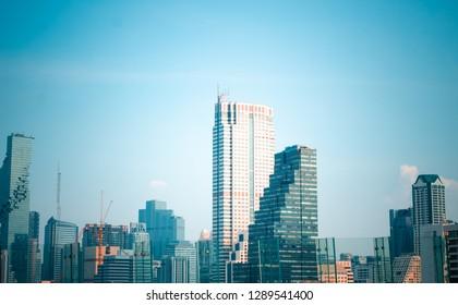 Bangkok Stadt Gebäude Stadt Landschaft