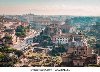コロシアム。ローマ、イタリア。