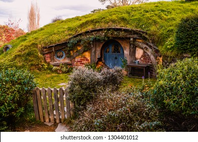 ホビトンムービーセット、ニュージーランド