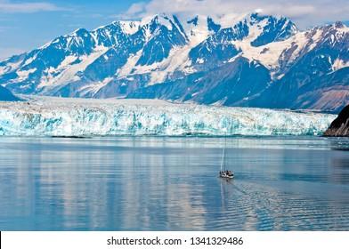 Sailing the Hubbard Glacier