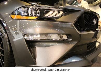 2019 Mustang GT Frontend