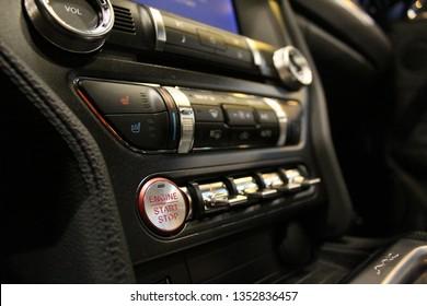 2019 Mustang GT Innenraum