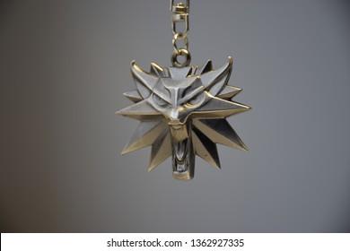 Schlüsselanhänger Hexer-3