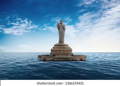 Estatua de Buda de Hyderabad, Hyderabad, India