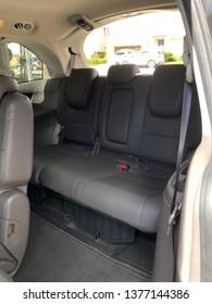 Interior view of Honda Oydsesey