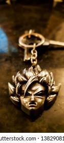 Goku dragon ball z.. keychain