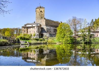 Kost Castle - gothic medieval stronghold in Bohemian Paradise, Cesky Raj, Czech Republic.