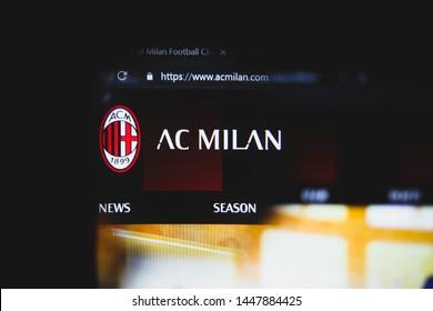 AC MILAN Logo Vector ( AI) Free Download