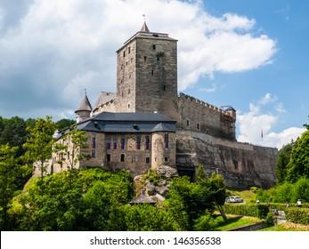 Kost castle near Turnov (Czech Republic)