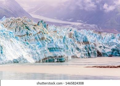 Hubbard Glacier from Disenchantment Bay, Alaska