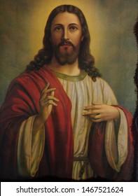 イエス・キリスト正教会のビザンチンのアイコン