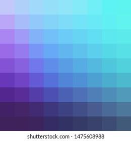 Gradient Colorful Mosaic Geometric Grid