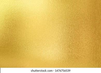 Fondo dorado. Textura de oro brillante de lujo