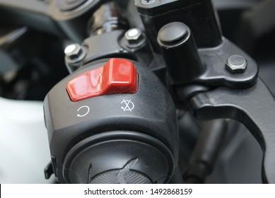 Botón de apagado del motor en Suzuki GSX R 150