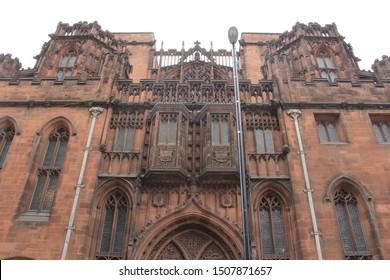 Biblioteca de la Universidad John Rylands, Manchester, Inglaterra, Europa