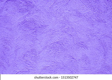 concrete wall or plaster wall abstract pattern texture different with painted by soft purple or violet vintage color like Thanos in Avenger movies suitable for background creative work with copy space