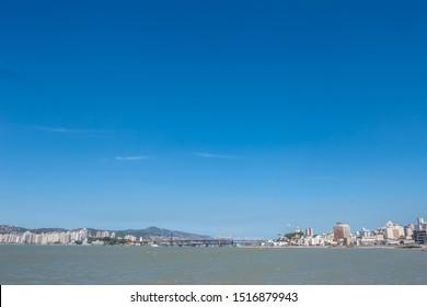 Beira Mar Estreito Florianópolis - Ponte Hercílio Luz